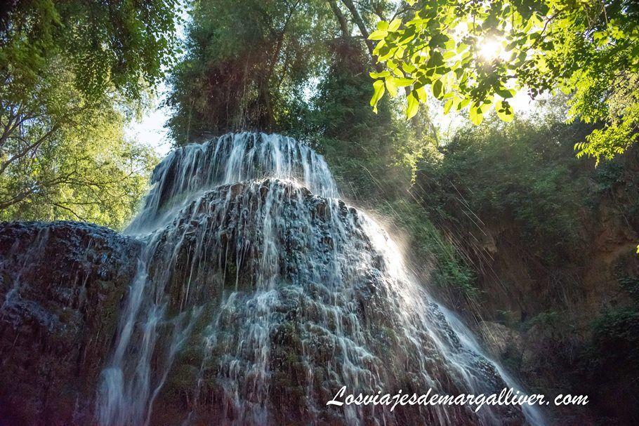 Cascada la Trinidad en el Monasterio de Piedra - Los viajes de Margalliver