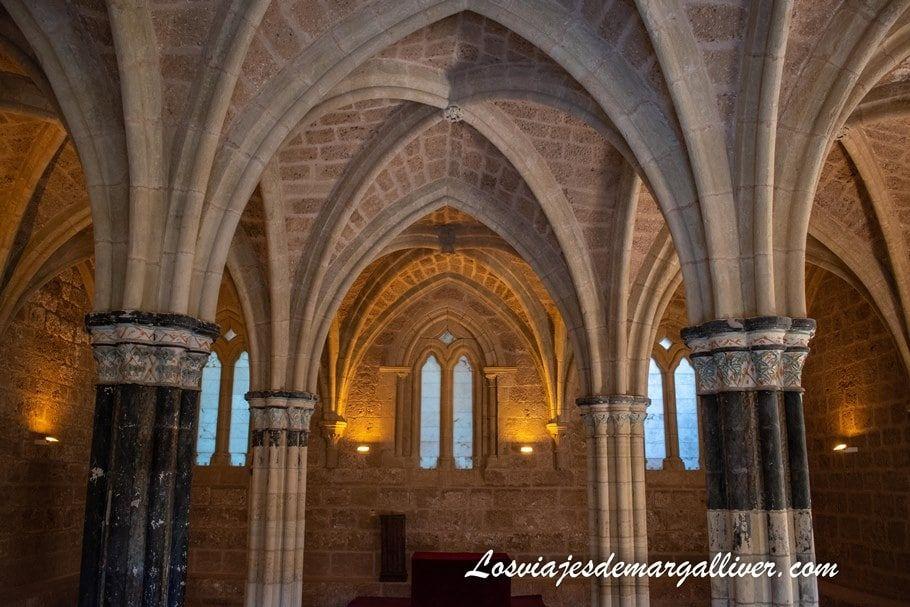 Sala Capitular Monasterio de Piedra - Los viajes de Margalliver