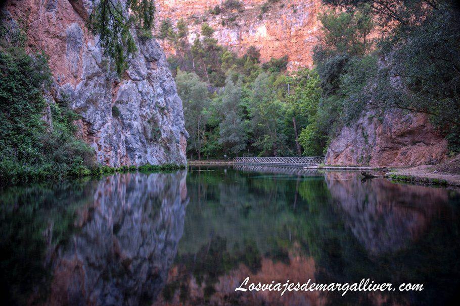 Lago del Espejo en Monasterio de Piedra - Los viajes de Margalliver