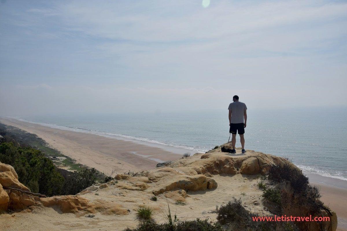 Playa de Rompeculos en Mazagón en la provincia de Huelva, destino ideal para visitar después del Coronavirus - Los viajes de Margalliver