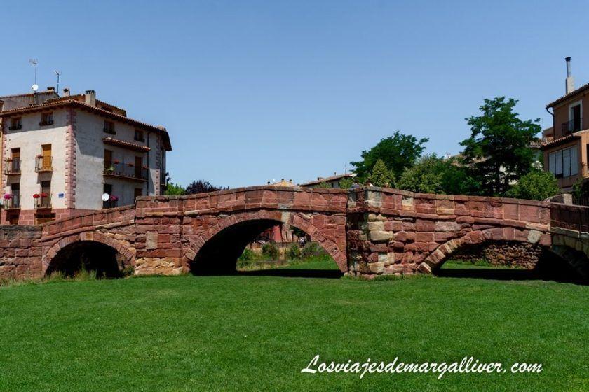 Puente viejo en Molina de Aragón - Los viajes de Margalliver