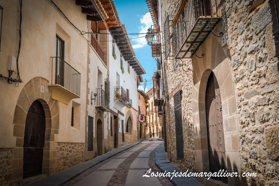 Rubielos de Mora en la ruta por Teruel - Los viajes de Margalliver