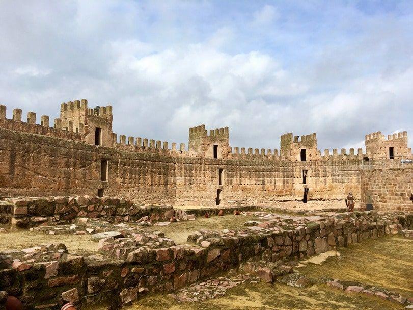 Castillo de Burgalimar en Baños de la encina, imprescindible en tu ruta por la provincia de Jaén - Los viajes de Margalliver