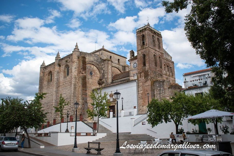 iglesia de la Consolación en Cazalla de la Sierra - Los viajes de Margalliver
