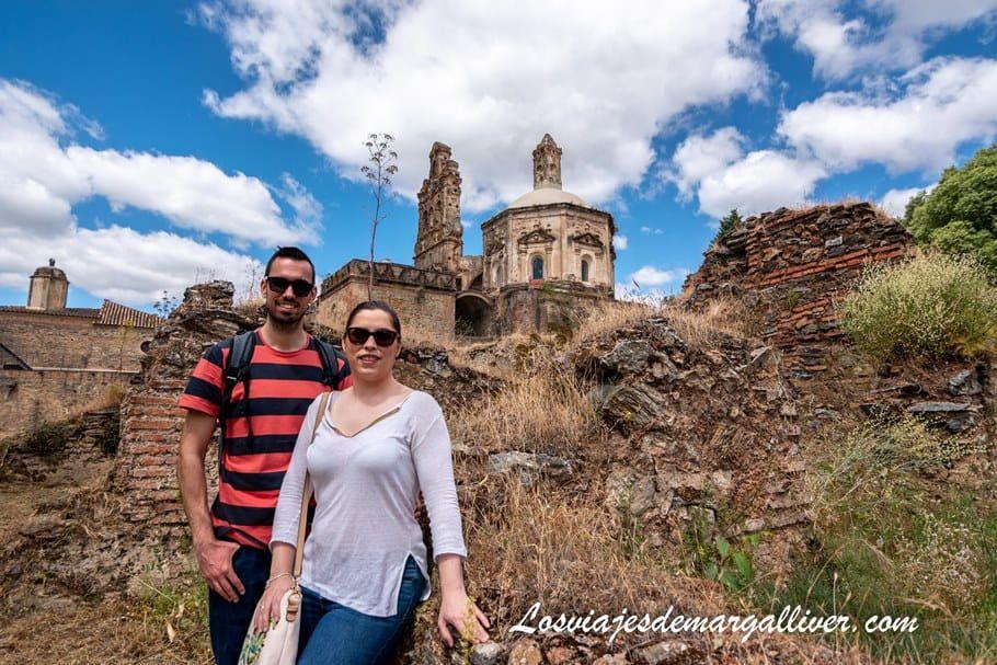 equipo Margalliver en la Cartuja de Cazalla de la Sierra - Los viajes de Margalliver