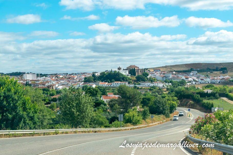 Cómo llegar a Cazalla de la Sierra en coche - Los viajes de Margalliver
