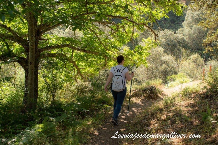 Sendero de las Laderas en Cazalla de la Sierra - Los viajes de Margalliver