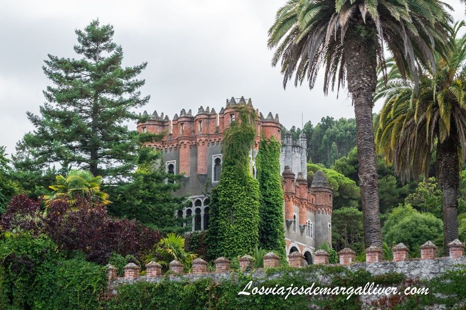 Castillo de Ocharán de propiedad privada en Castro Urdiales - Los viajes de Margalliver