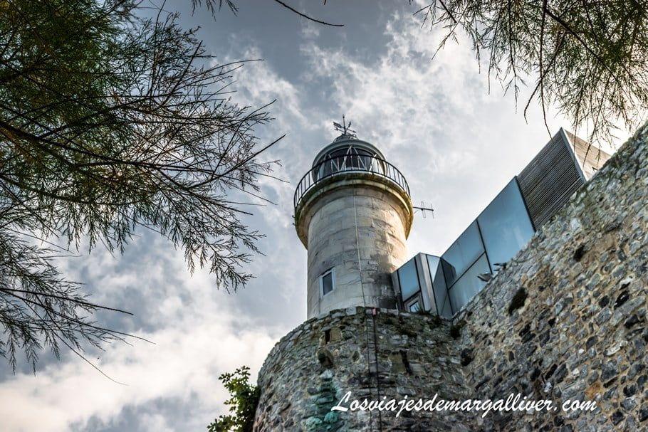 Faro dentro del castillo de Santa Ana de Castro Urdiales - Los viajes de Margalliver