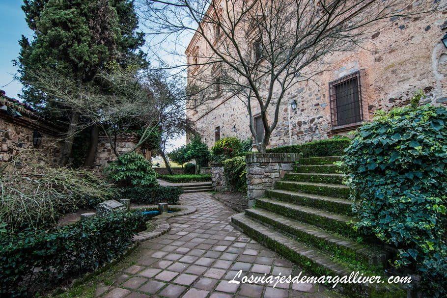 El jardín de Cristina de Ulloa en Cáceres