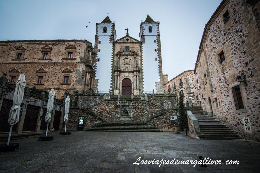 Iglesia de San Francisco Javier en Cáceres