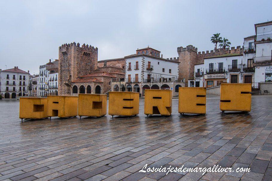 Plaza Mayor de Cáceres - Qué ver en Cáceres