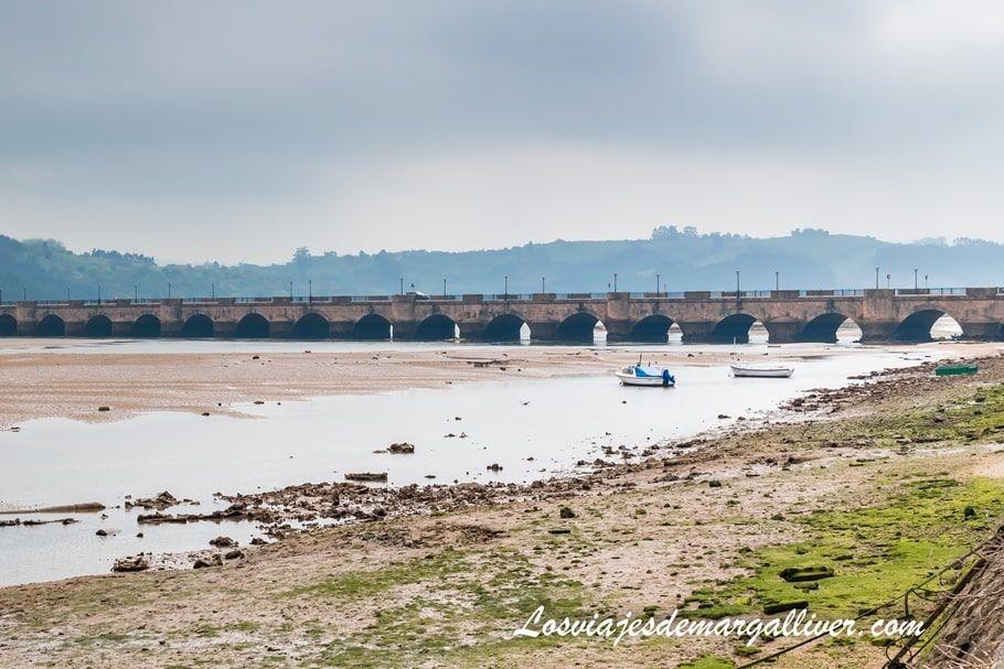 Puente de la Maza en San Vicente de la Barquera , Cantabria - Los viajes de Margalliver