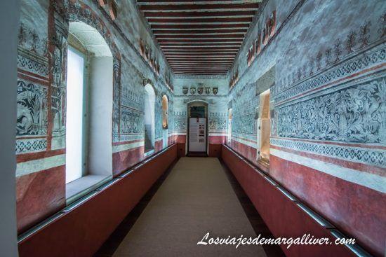 Sala de Armas en el palacio de los Golfines de Abajo en Cáceres