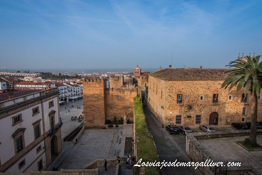 Vistas desde la Torre del Horno de Cáceres