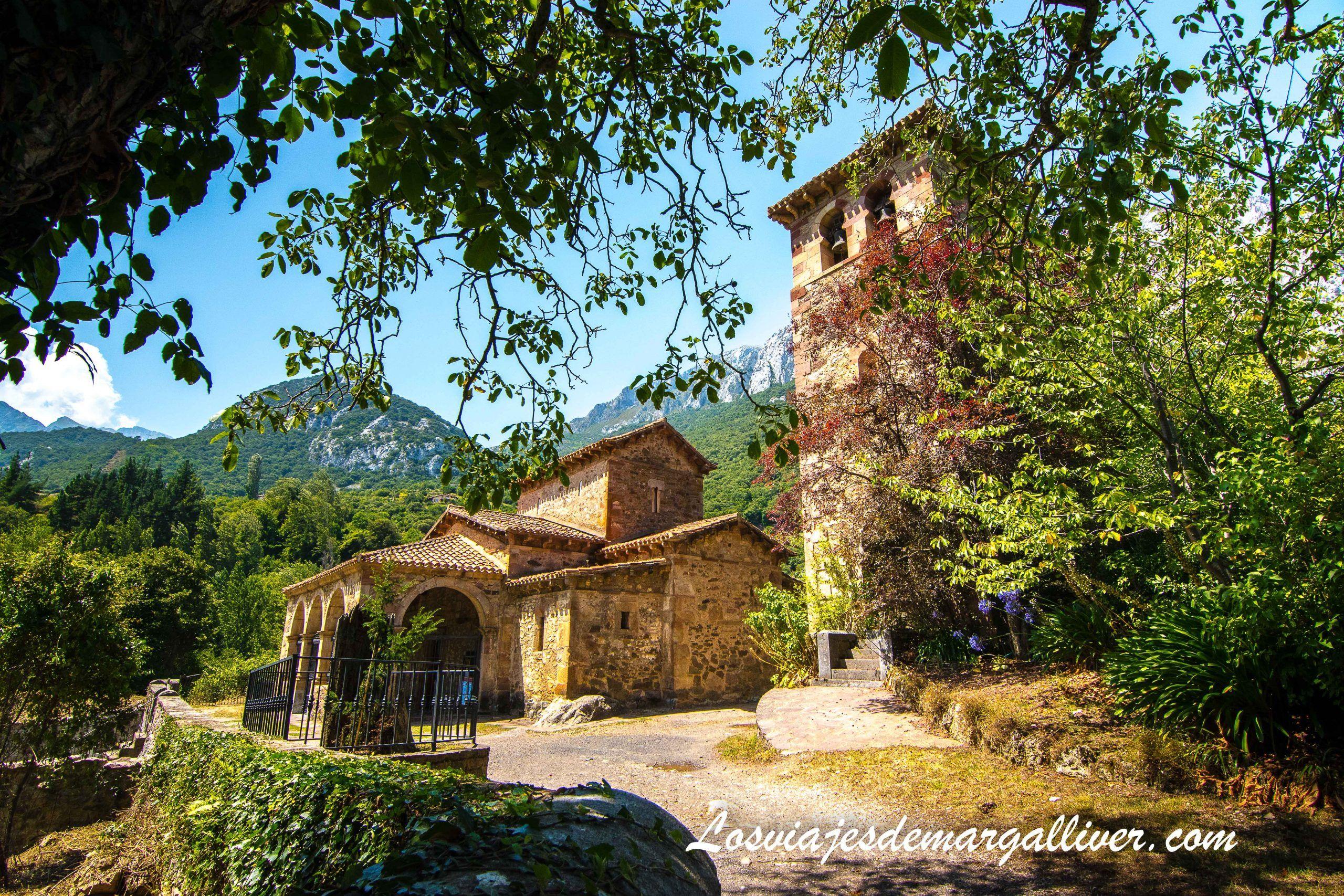 Iglesia prerrománica de Santa María de Lebeña en Cantabria - Los viajes de Margalliver