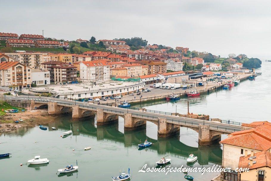 Puente de la Barquera en San Vicente de la Barquera , Cantabria - Los viajes de Margalliver