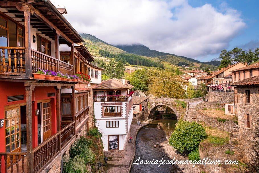 una de las estampas más bonitas de Potes en Cantabria - Los viajes de Margalliver