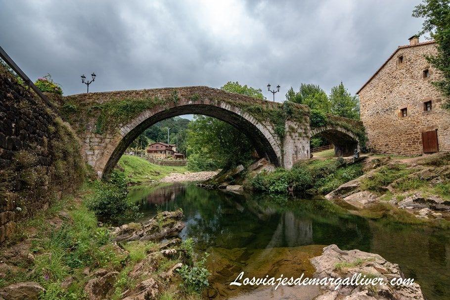 puete medieval de Liérganes, en nuestra ruta en coche por Cantabria - Los viajes de Margalliver