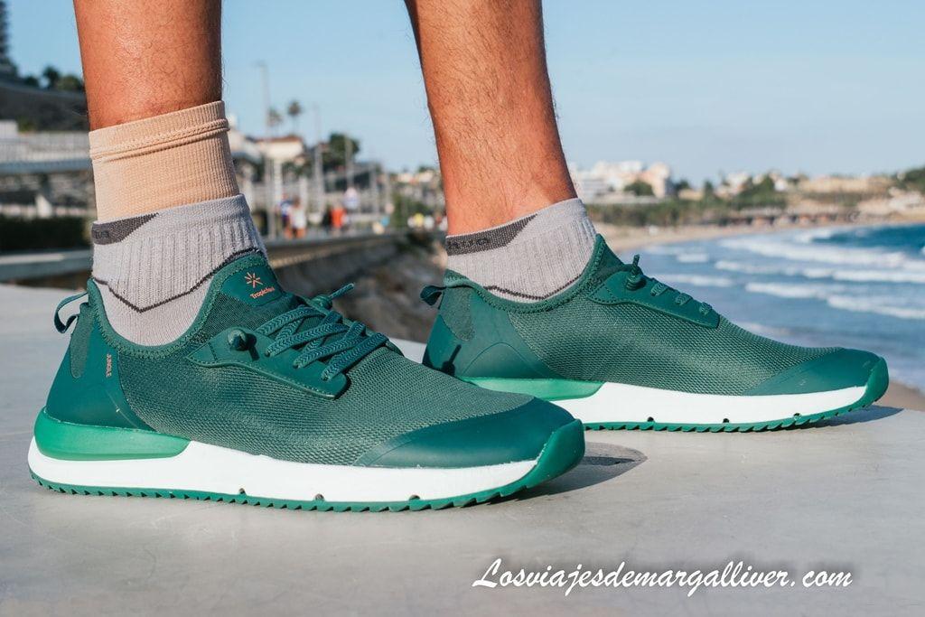 Zapatillas Tropicfeel modelo Jungle en color pine green en Tarragona - Los viajes de Margalliver