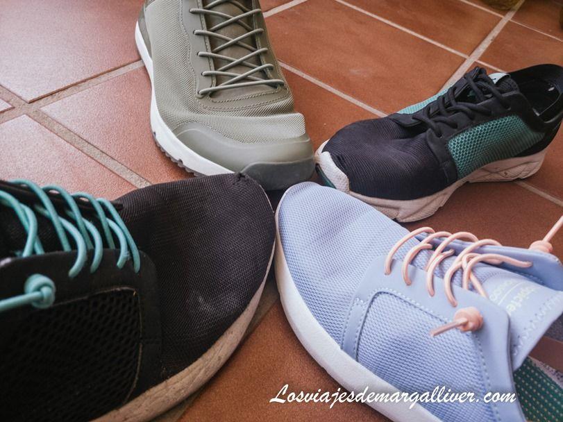 Nuestras zapatillas viajeras de Tropicfeel - Los viajes de Margalliver