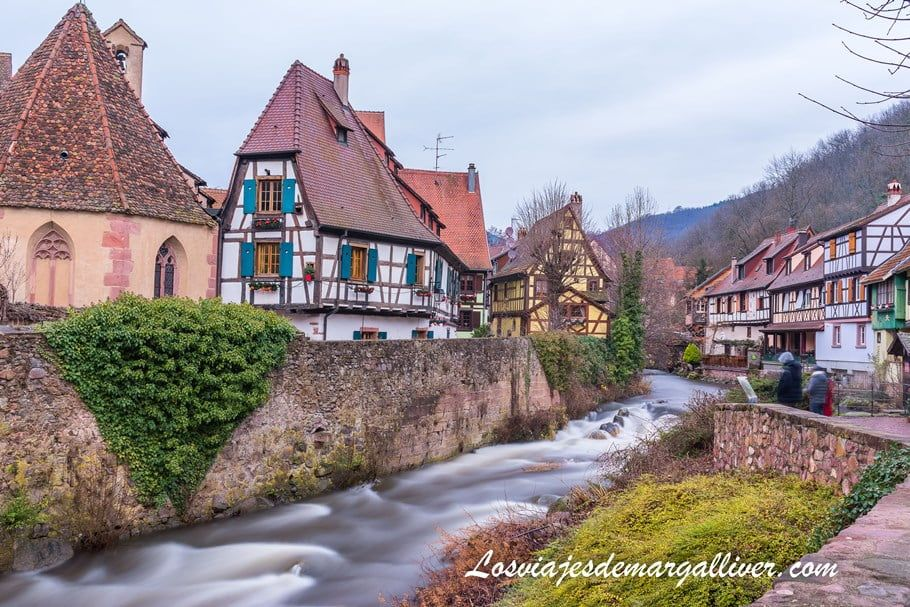 Rio Weiss a su paso por Kaysersberg, el lugar más fotografiado de Alsacia - Los viajes de Margalliver