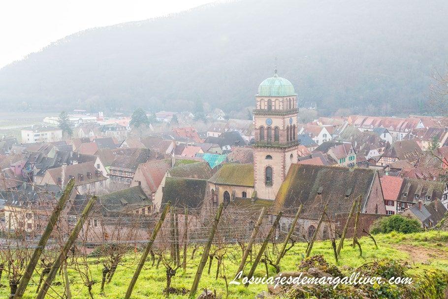 Vistas desde lo alto del castillo de Kaysersberg - Los viajes de Margalliver