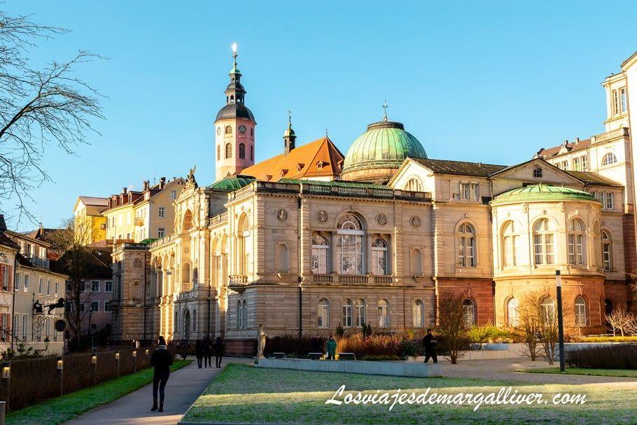 Panorámica del centro de Baden-Baden en Alemania - Los viajes de Margalliver
