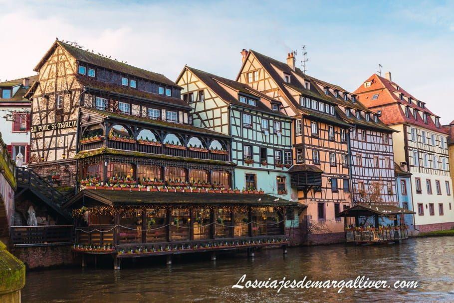 La Petit France, sin duda uno de los sitios más bonitos de Estrasburgo, ruta en coche por Alsacia - Los viajes de Margalliver