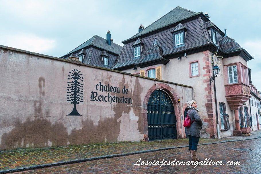 Chateau de Richenstein en Kientzheim, en nuestra ruta por Alsacia en Navidad - Los viajes de Margalliver
