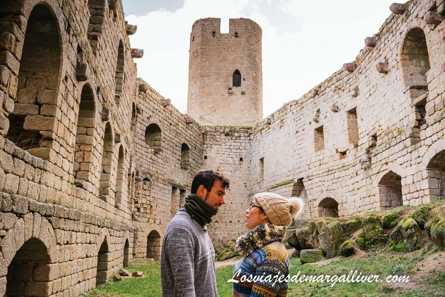 Equipo Margalliver en Interior del castillo de Andlau, en Alsacia - Los viajes de Margalliver