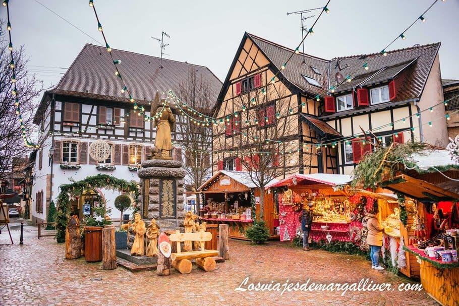 Mercadillos navideños de Eguisheim, recorriendo Alsacia en coche - Los viajes de Margalliver