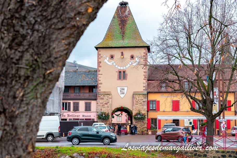 Puerta de entrada a Turckheim en Alsacia - Los viajes de Margalliver