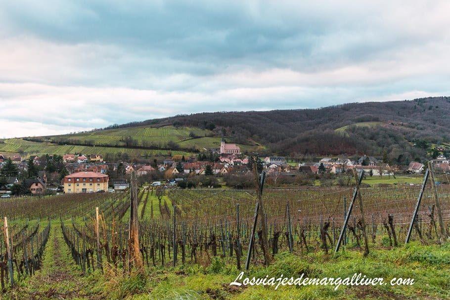 Mittelbergheim visto desde la carretera - Los viajes de Margalliver