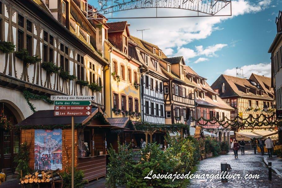 Casas alsacianas de colores en Obernai - Los viajes de Margalliver