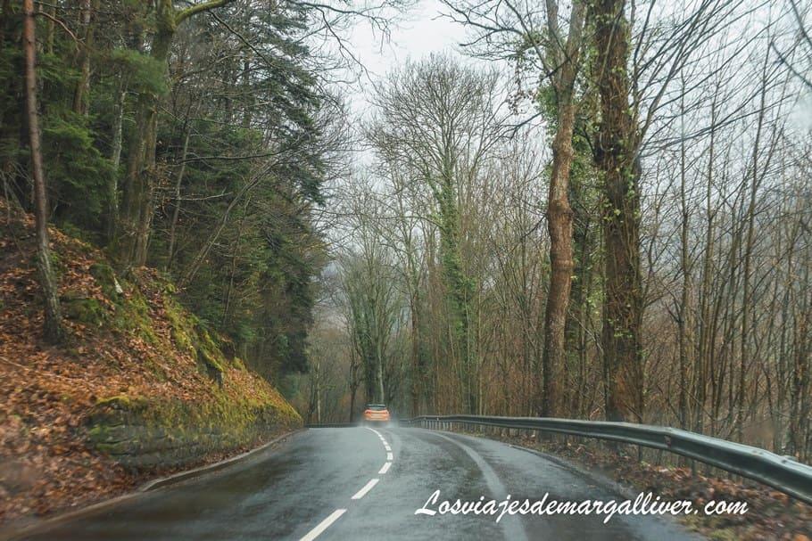 Carretera de camino al Santuario del Monte Sainte Odile - Los viajes de Margalliver