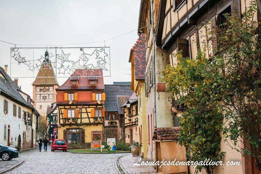 recorriendo el precioso pueblo de Bergheim - Los viajes de Margalliver