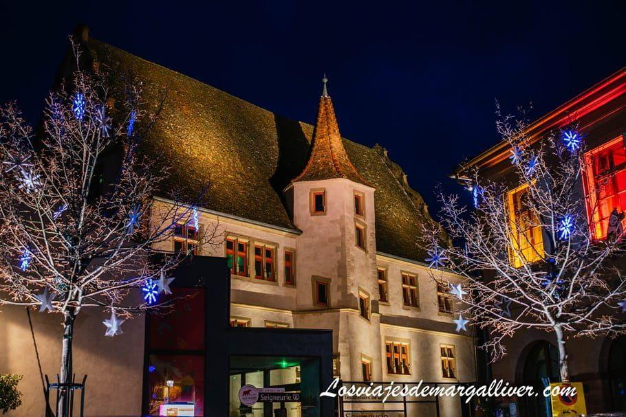 Andlau de noche en Navidad - Los viajes de Margalliver
