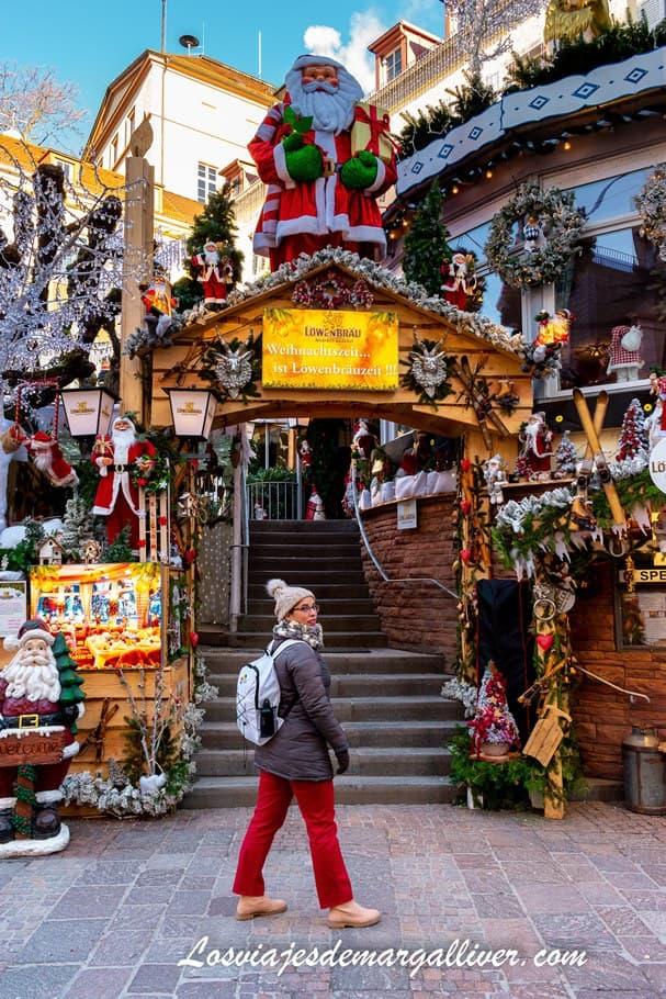 Margalliver en uno mercadillo navideño en Baden-Baden - Los viajes de Margalliver
