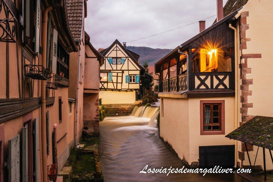 Rincón pintoresco de Andlau en nuestra ruta en coche por Alsacia - Los viajes de Margalliver