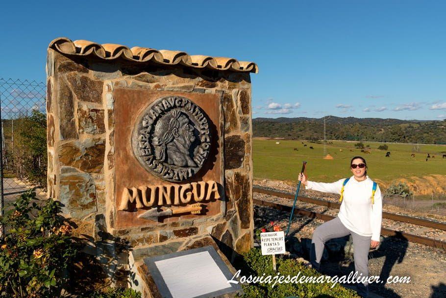 Comienzo desde la ermita de santa barbara del senderismo a Munigua - Los viajes de Margalliver