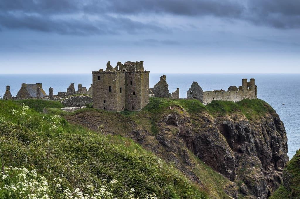 Castillo de Dunnottar en Escocia - Los viajes de Margalliver