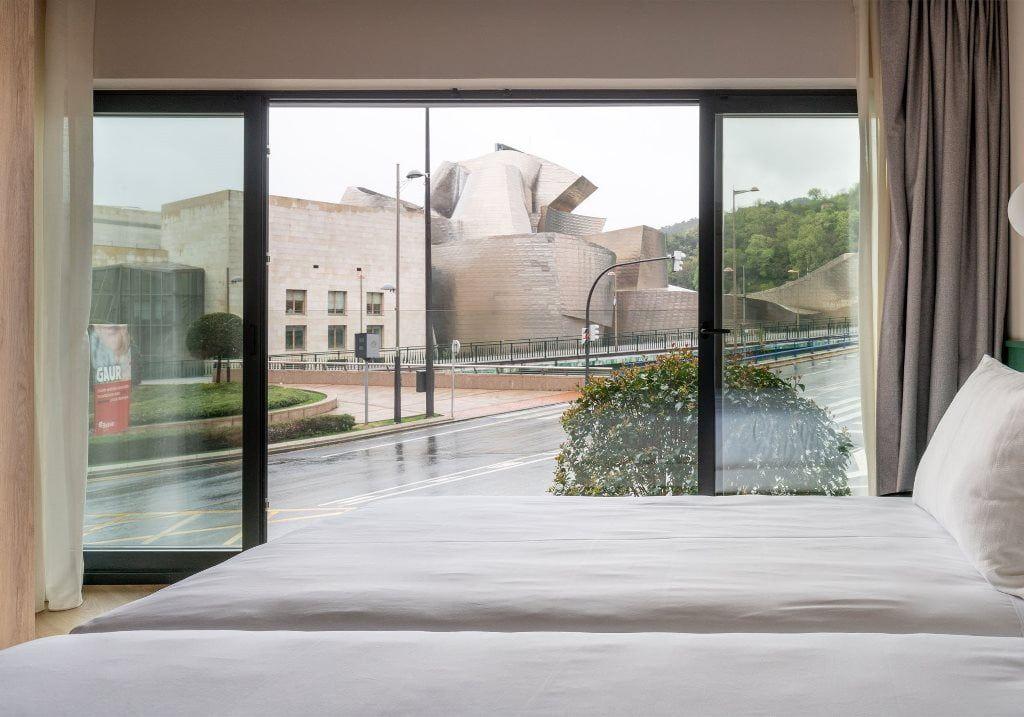 Uno de los apartamentos de Stay Libere con vistas al Guggenheim - Los viajes de Margalliver
