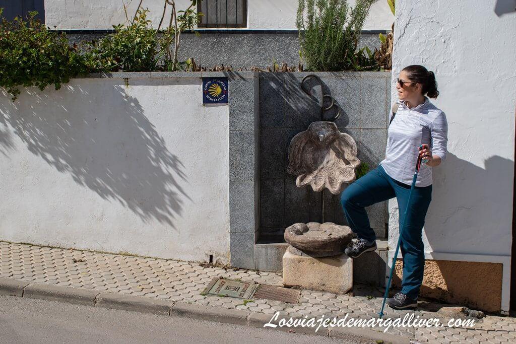 Señales del Camino de Santiago en El Real de la Jara, Sevilla - Los viajes de Margalliver