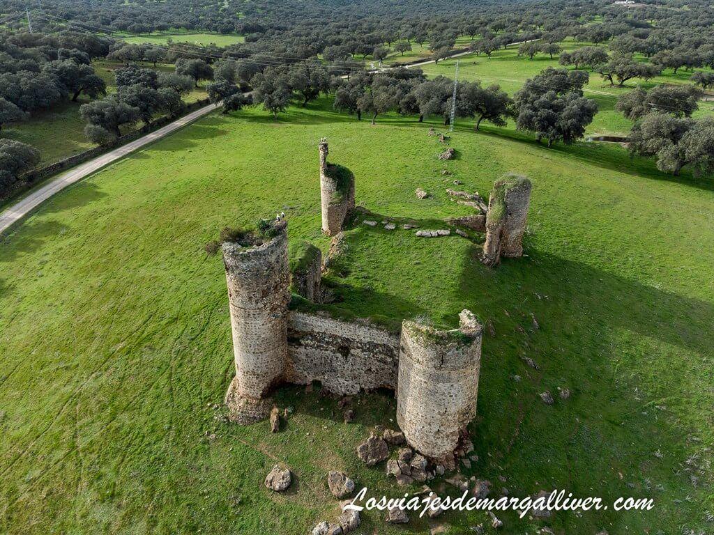 Castillo de las torres en Monesterio, Extremadura - Los viajes de Margalliver