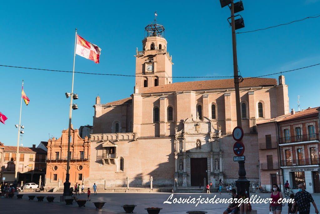 Colegiata de San Antolín en Medina del campo, en nuestra ruta de Isabel la Católica - Los viajes de Margalliver
