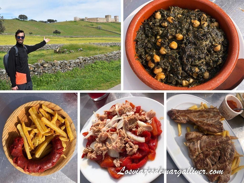 Tapas de el Meson la Cochera, Dónde comer en El Real de la Jara - Los viajes de Margalliver