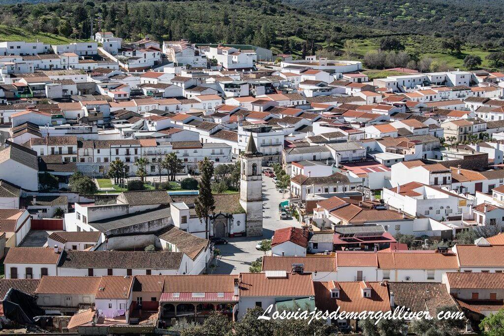 Vistas de El Real de la Jara desde su Castillo Medieval - Los viajes de Margalliver