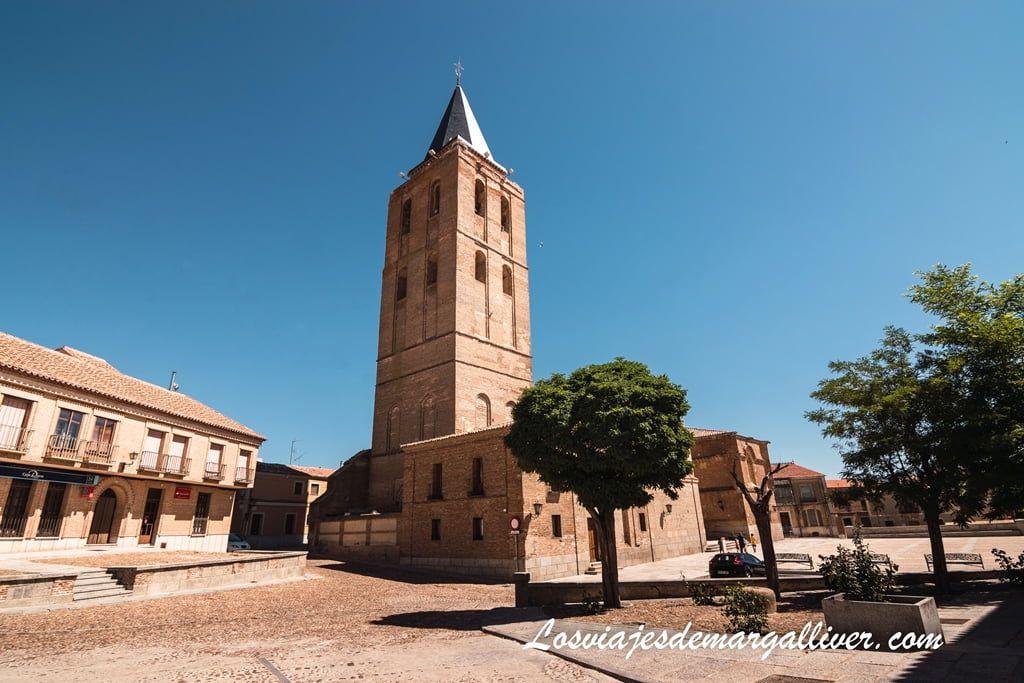 Iglesia de San Nicolás de Bari en Madrigal de las Altas Torres - Los viajes de Margalliver