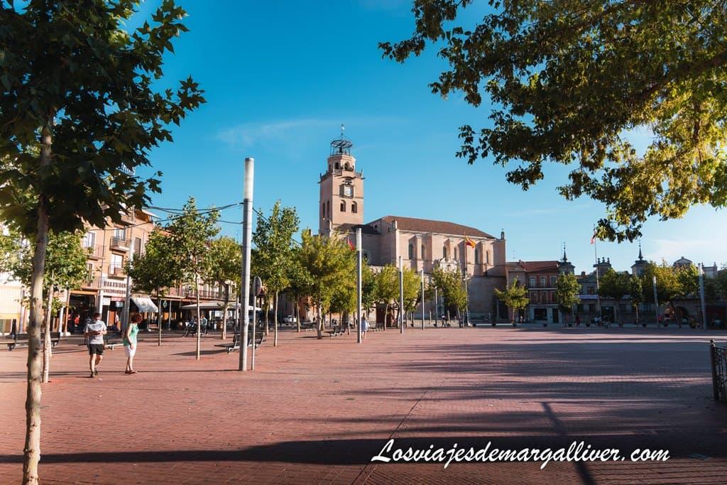 Plaza Mayor de la Hispanidad en Medina del Campo - Los viajes de Margalliver